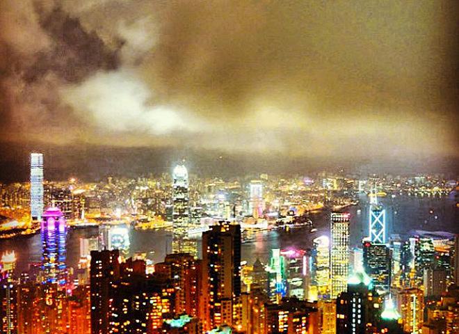 Гонконг достопримечательности в Instagram