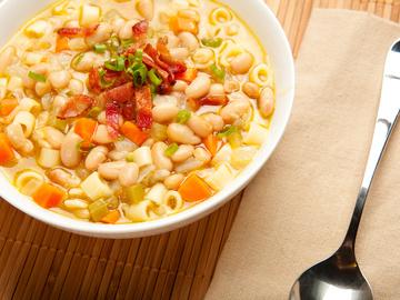 суп с фасолью рецепт