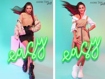 Анна Тринчер стала лицом подростковой коллекции Andre Tan Easy