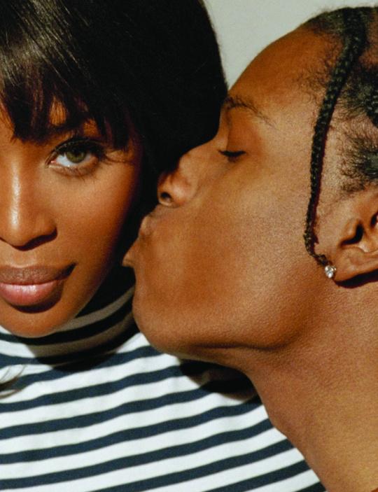 Наомі Кемпбелл і Asap Rocky для Pop Magazine