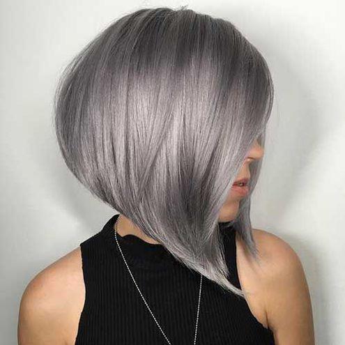 Металлический цвет волос