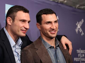 Виталий и Владимир Кличко