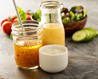 3 простых рецепта заправки для салатов