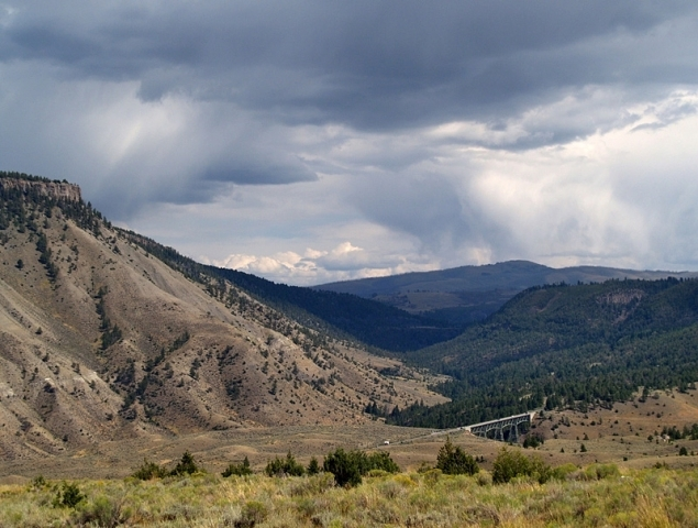 парк Yellowstone Park