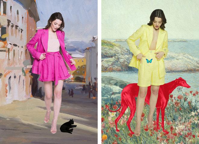 Модные костюмы от украинских брендов