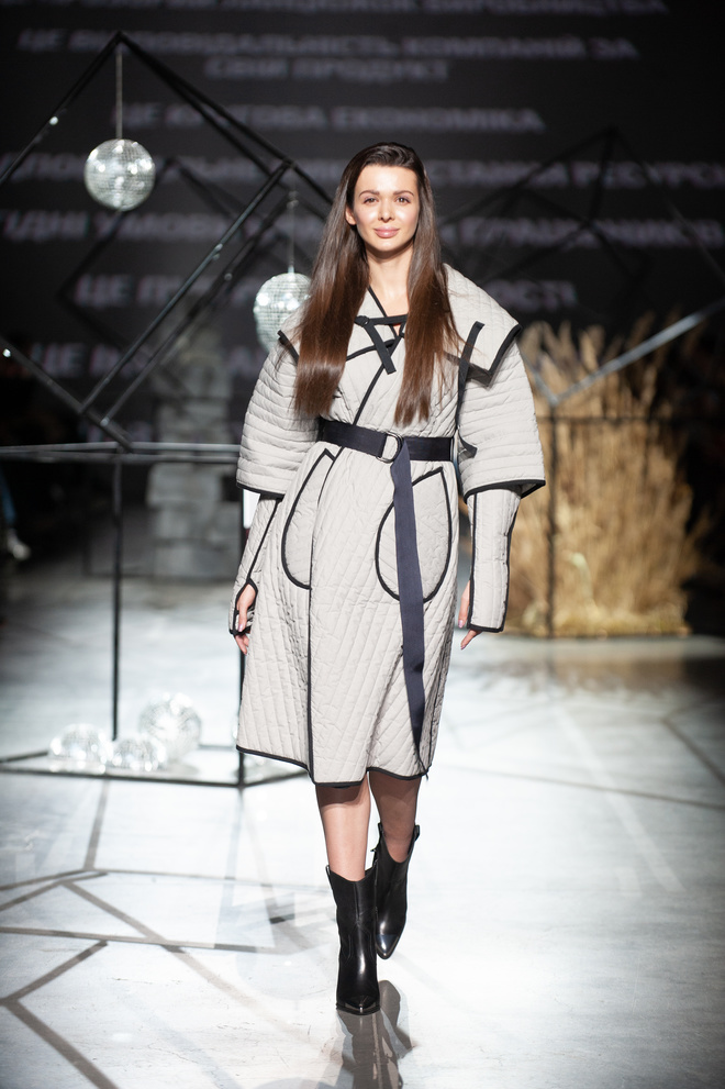 BE SUSTAINABLE! Fashion Show на Ukrainian Fashion Week FW20-21