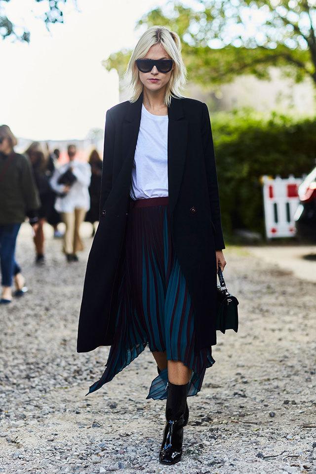 Streetstyle на тижні моди в Копенгагені