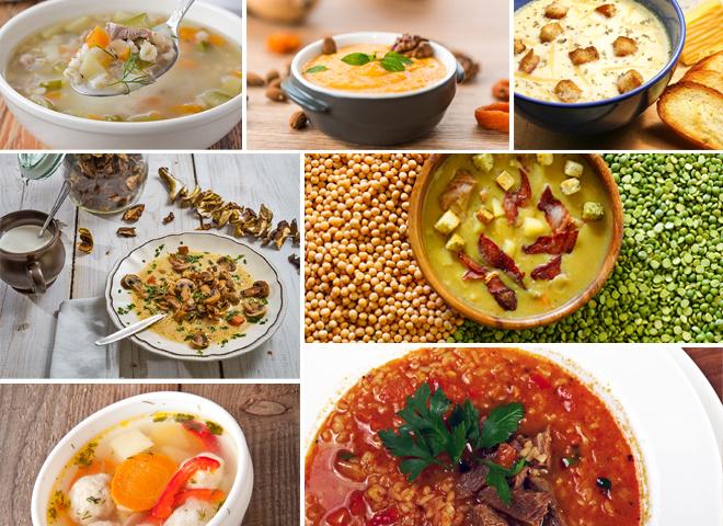 Рецепти супів