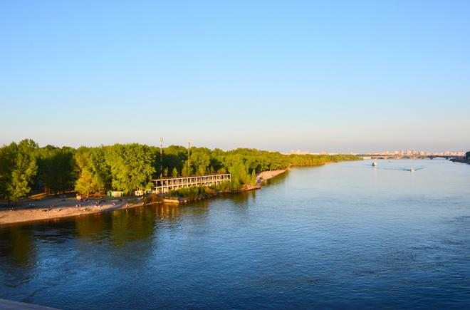 Пляжі Києва