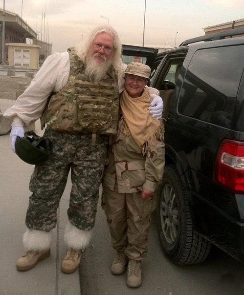 Афганский Санта...