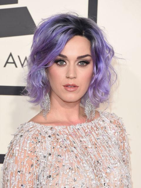 Модне в новому сезоні «волосся русалки» на прикладі Кеті Перрі