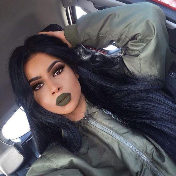 Модный тренд 2017: зеленая помада