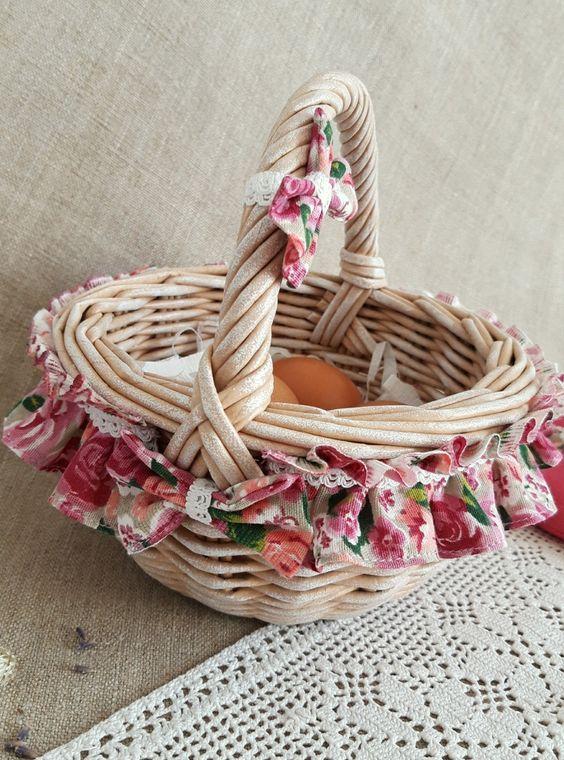 Как красиво декорировать пасхальную корзинку