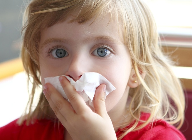 простуда у ребенка