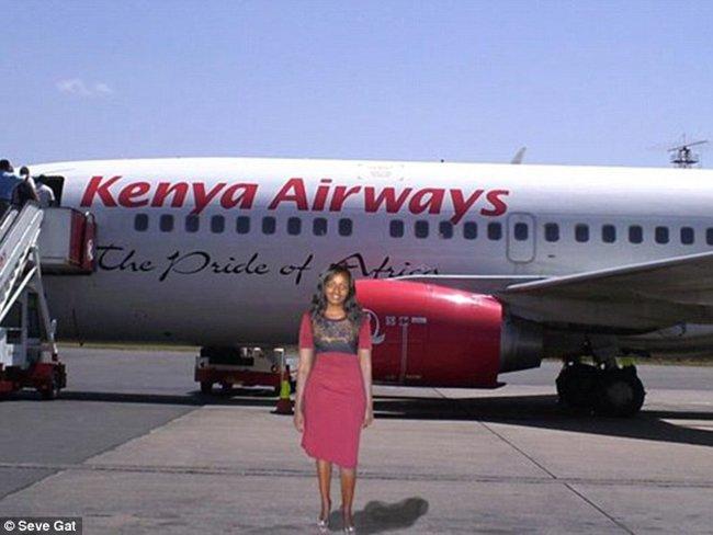 Девушка из Нигерии решила попутешествовать с помощью фотошопа