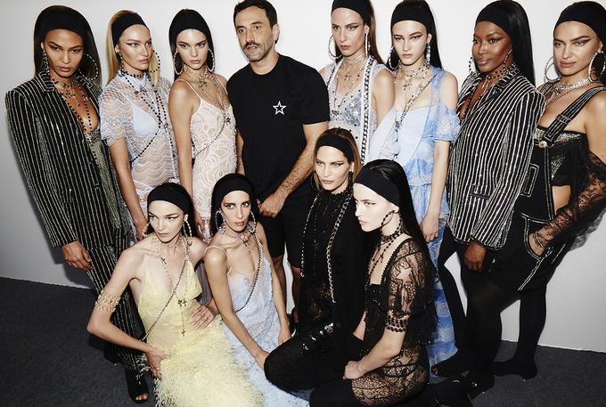 Бьюти-образ моделей с показа Givenchy Men's весна 2016