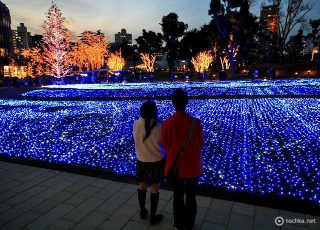Різдвяна ілюмінація в містах: Токіо