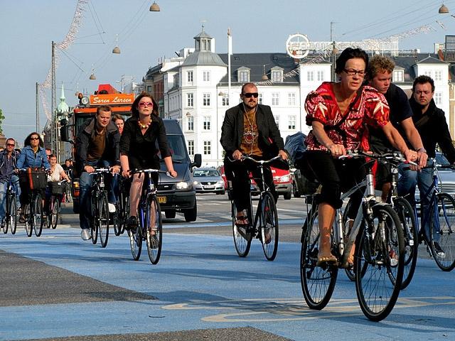 Де рай для велосипедистів: Копенгаген