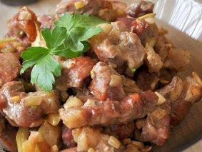 Свинина, маринованная в соевом соусе