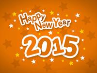 Открытки к Новому году 2015