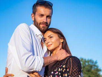 Илона Гвоздева с мужем