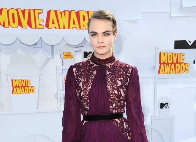 Кара Делевинь на MTV Movie Awards 2015