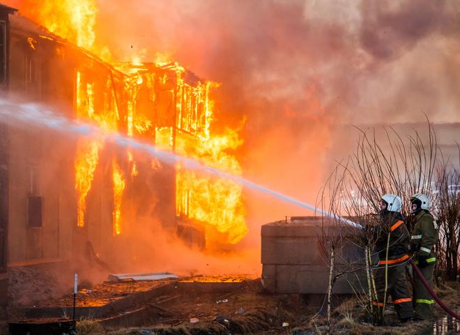 Техніка безпеки при пожежі