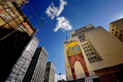 Крутой стрит арт