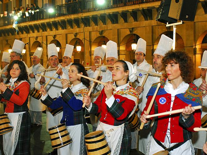 Фестивали января: Тамборрада Сан-Себастьяна