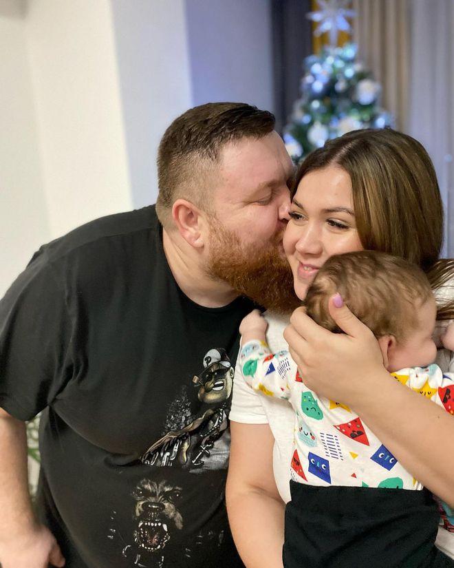 Володимир Жогло з сім'єю