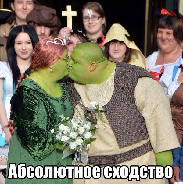 Самая Шрековская свадьба