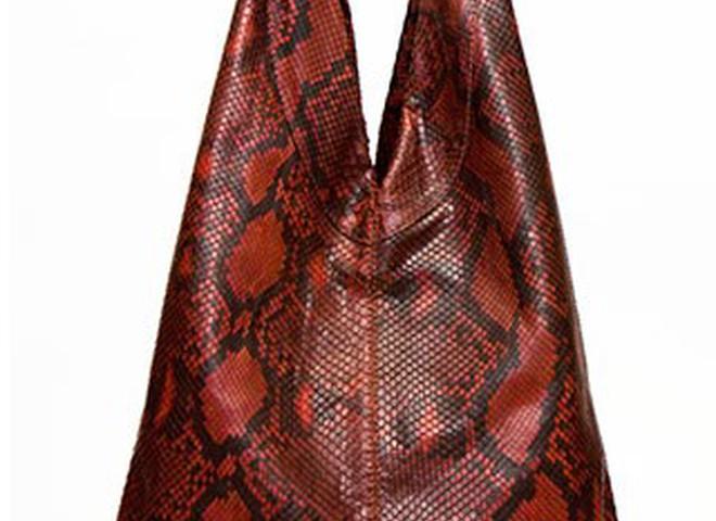 В моду входять сумки зі шкіри рептилій