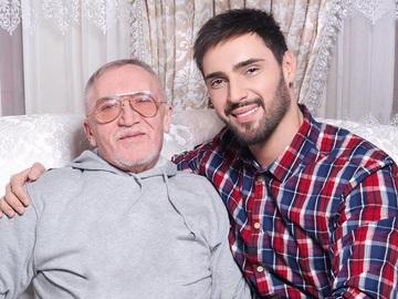 Віталій Козловський з батьком