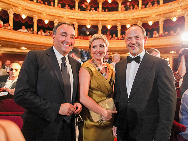 Церемония открытия ОМКФ. Оперный театр