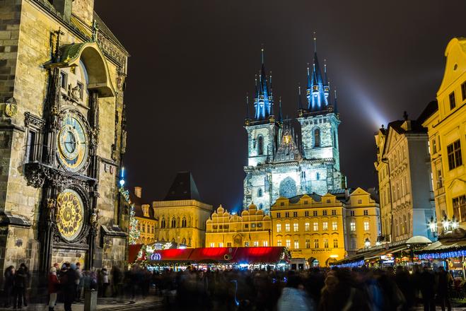 Новий рік 2018 в Празі