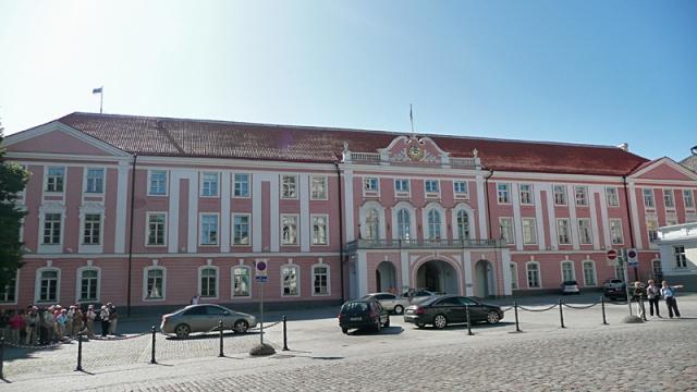 Достопримечательности Таллинна: здание Парламента