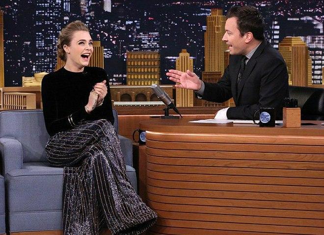 Кара Дельвіль «The Tonight Show», Нью-Йорк