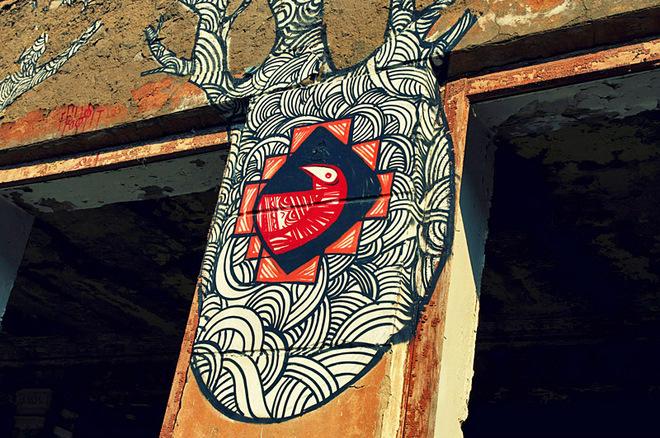 Каменец-Подольский: адреса граффити
