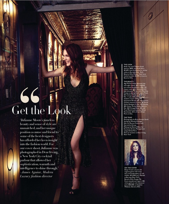 Джуліанна Мур в журналі Angeleno