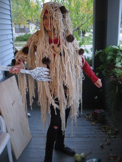 Креативые костюмы на Хэллоуин