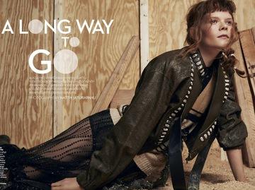 Українська модель Ірина Кравченко для Vogue Thailand