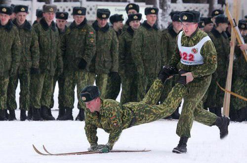 В Русской армии самые суровые соревнования
