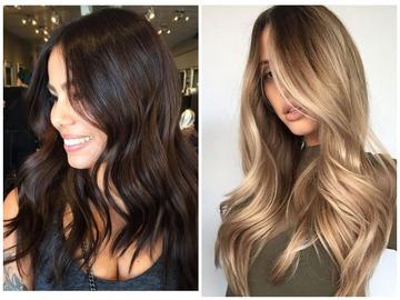 Окрашивание волос весна 2019