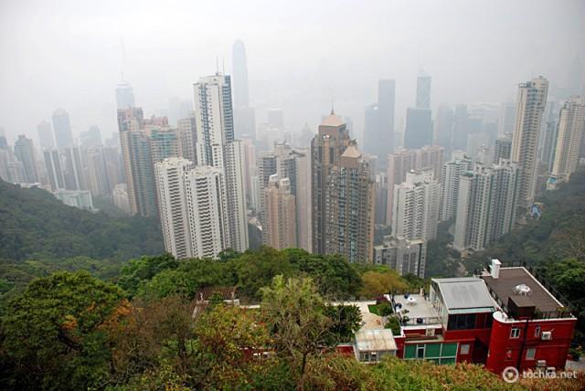Достопримечательности Гонконга: пик Виктории