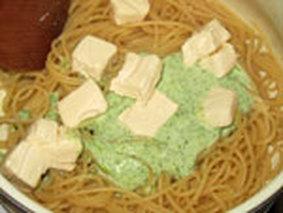 Макароны с плавленным сыром