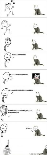 Ржачные комиксы fuuuu про котов