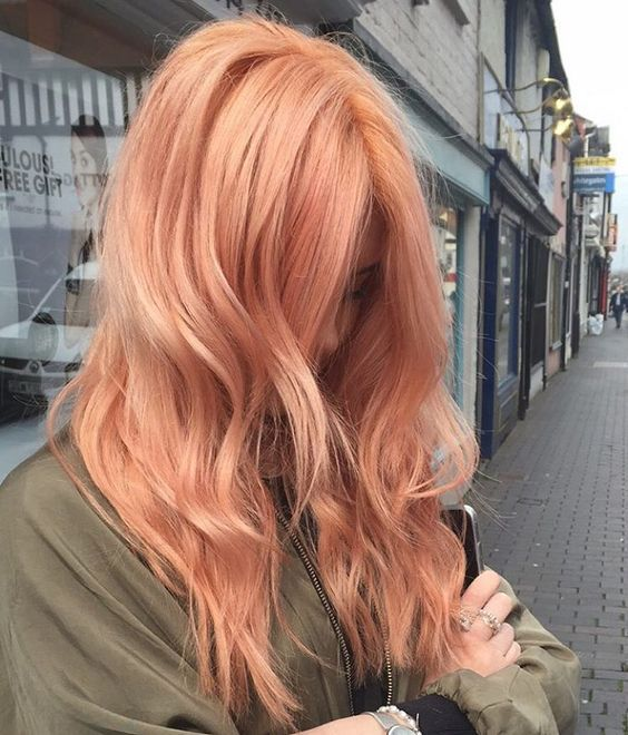 Пастельные оттенки волос