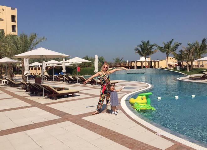 Лилия Ребрик вместе с семьей улетела в ОАЭ