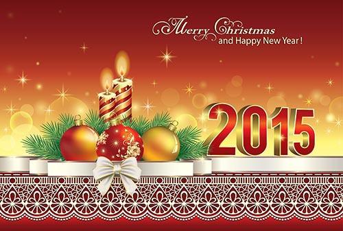 С Рождеством и Новым годом 2015
