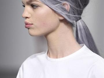 Седые волосы - модное окрашивание 2016